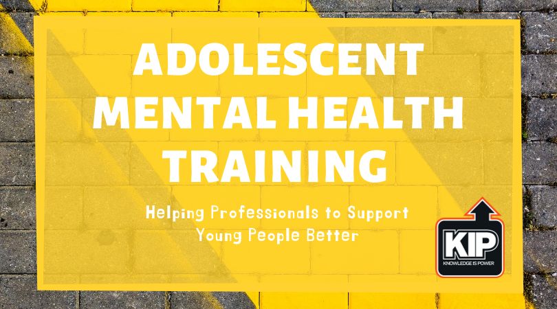 Webinar: Adolescent Mental Health Training