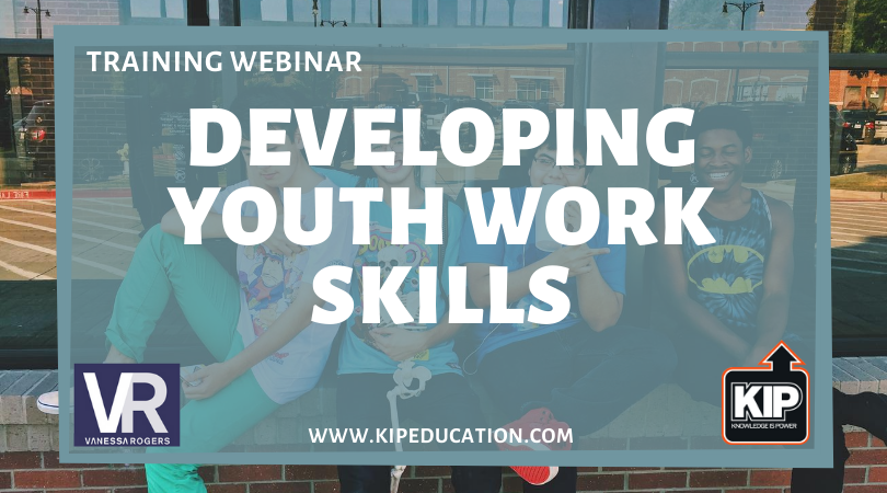 Webinar: Developing Youth Work Skills