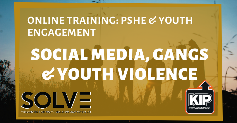 Online Training: Social Media, Gangs and Youth Violence Training