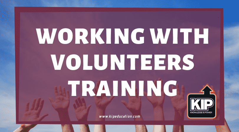 Working With Volunteers Training