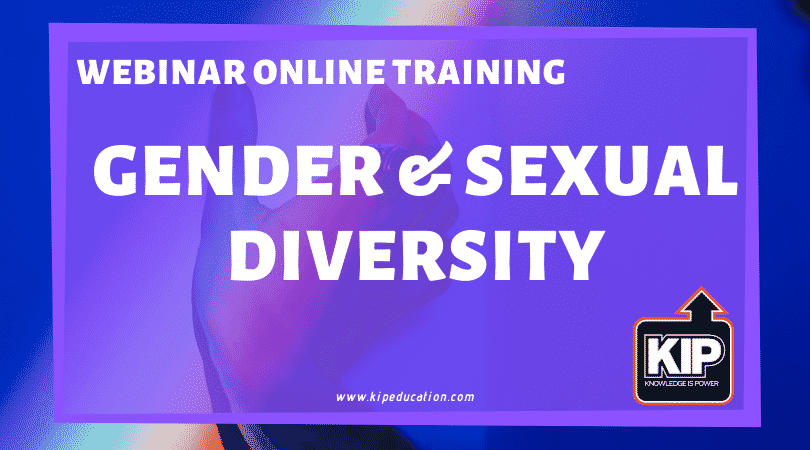 Webinar Online Training: Gender & Sexual Diversity